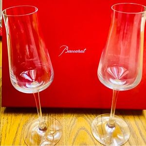 Chateau Baccarat Champagne Flute Set of 2